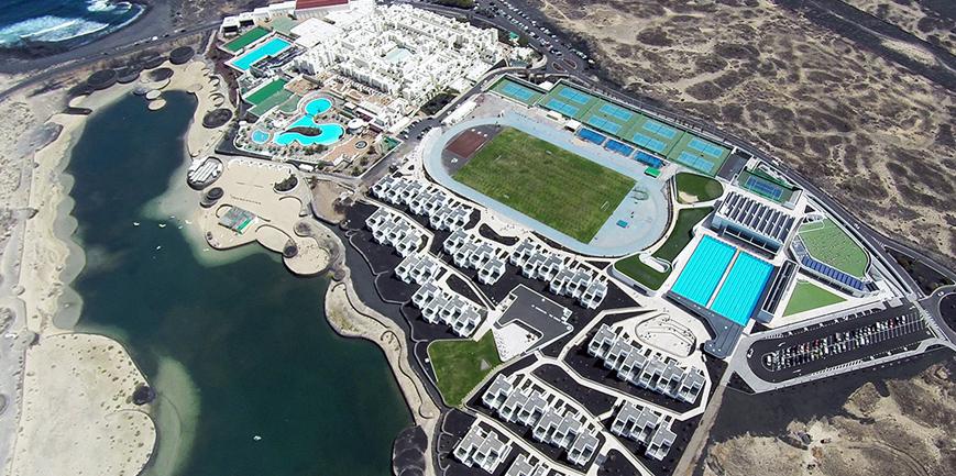 Bei der Wahl von mein-triathlonhotel.de zum besten Triathlonhotel in Europa landete der Club La Santa auf Lanzarote auf Platz 1. (Foto: Club La Santa)