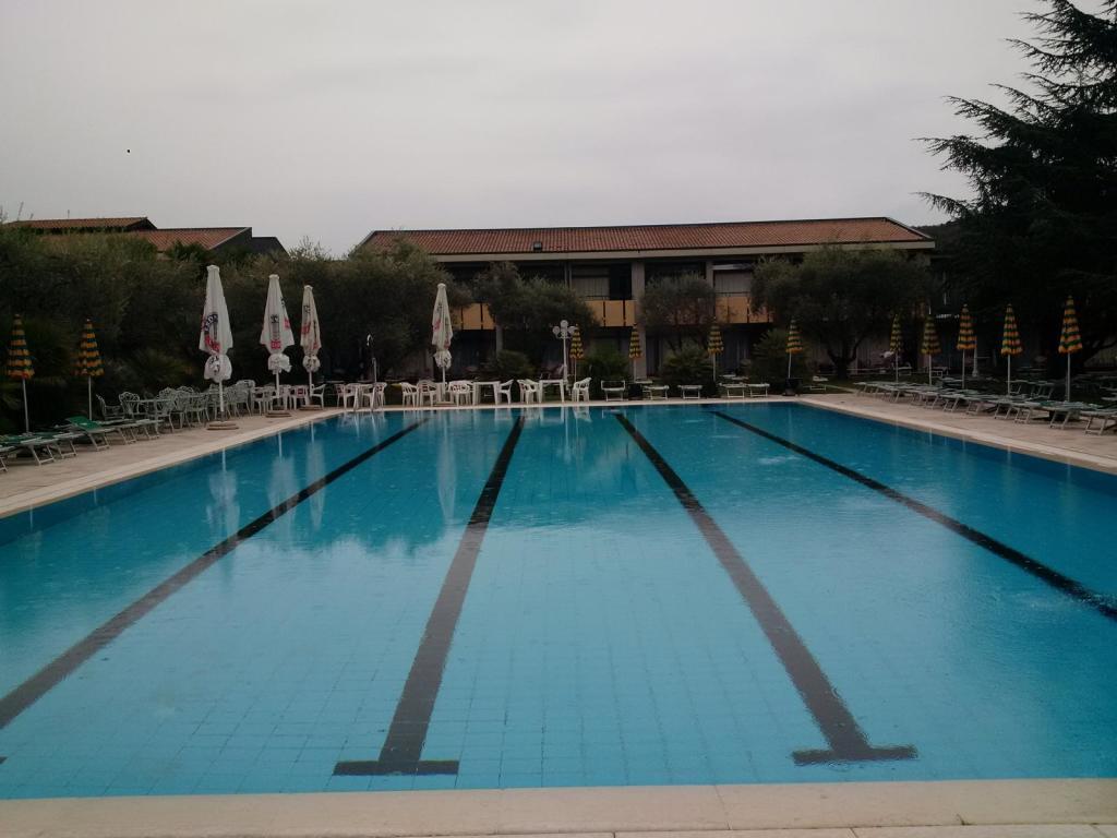 25-Meter-Pool, leider nicht beheizt. (Foto: sic)