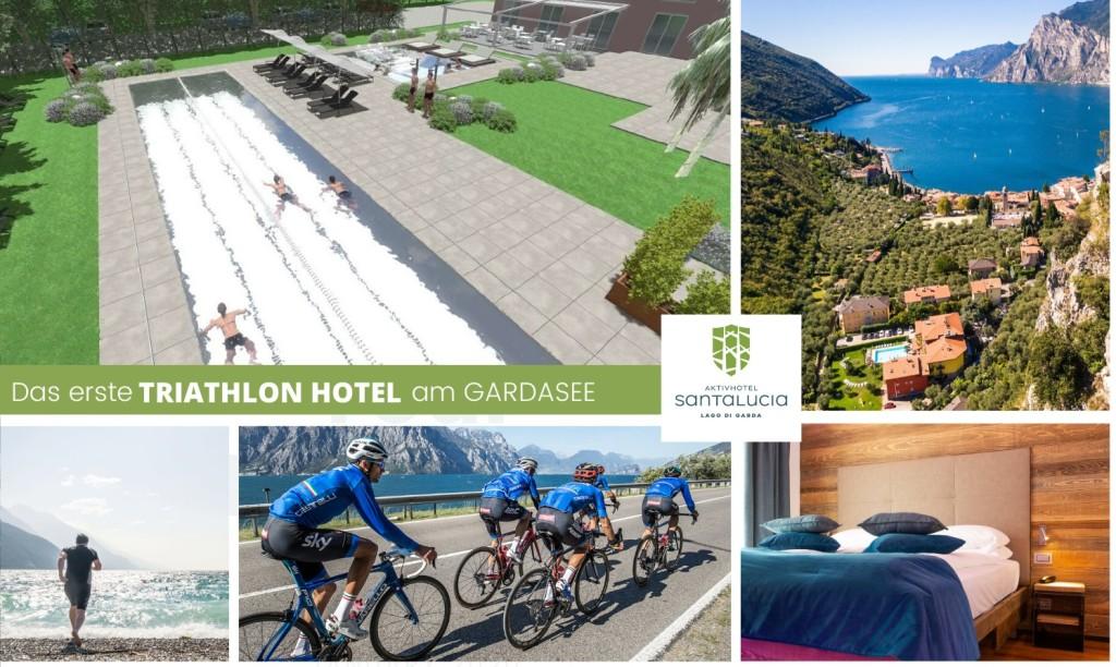 Tolles Triathlonhotel am Gardasee. (Foto: Aktivhotel Santa Lucia)